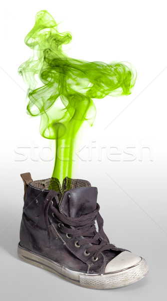 stinky sneaker Stock photo © prill