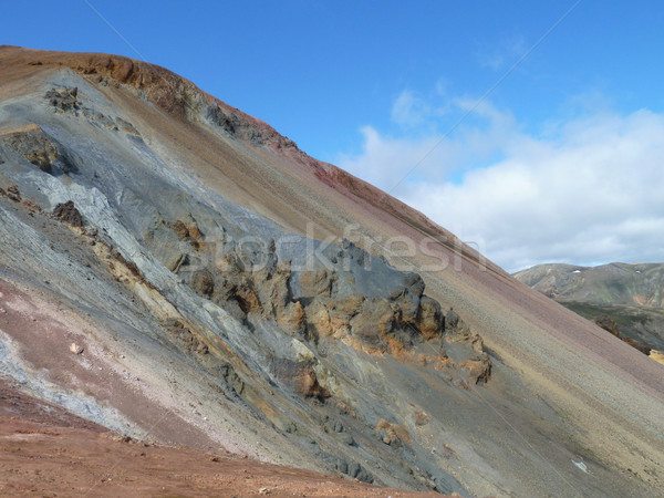 rock formation in Iceland Stock photo © prill