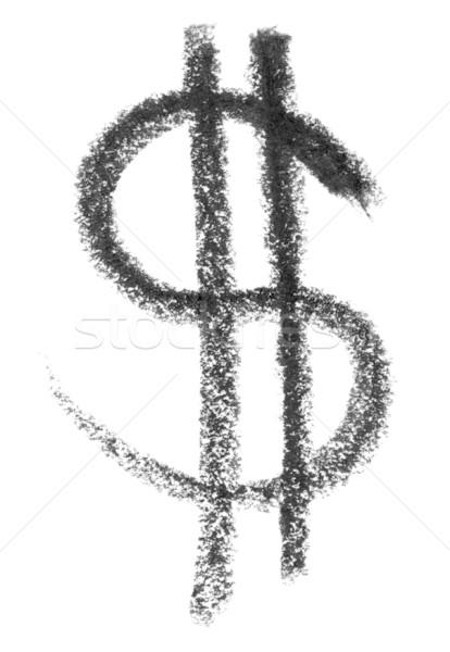 dollar symbol sketch Stock photo © prill