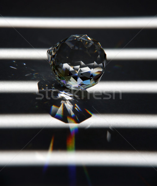 glass object and refraction Stock photo © prill
