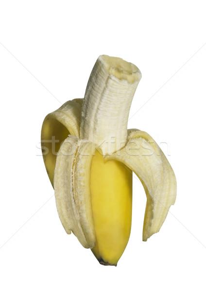bitten off banana Stock photo © prill