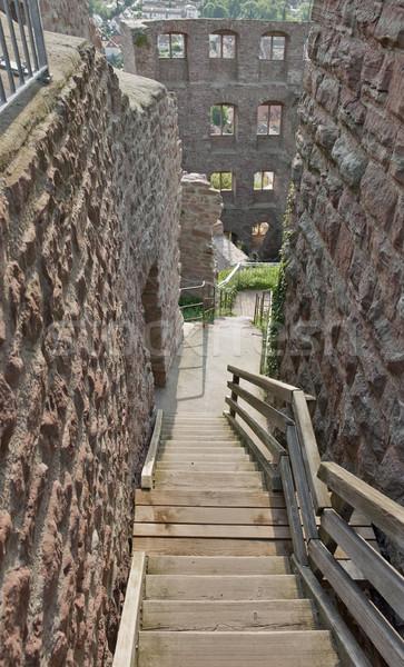 sunny Wertheim Castle detail Stock photo © prill