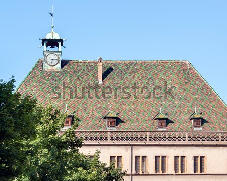 ornamented roof Stock photo © prill