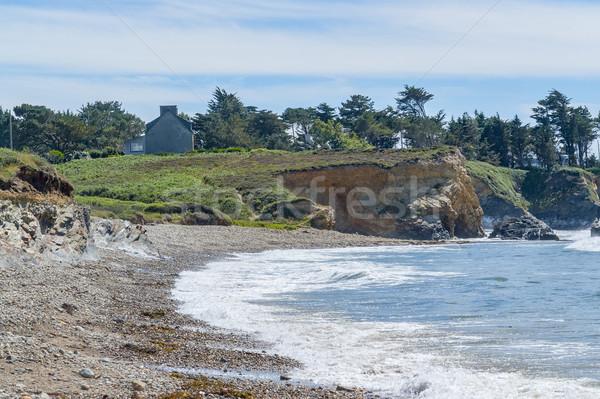 crozon peninsula in Brittany Stock photo © prill