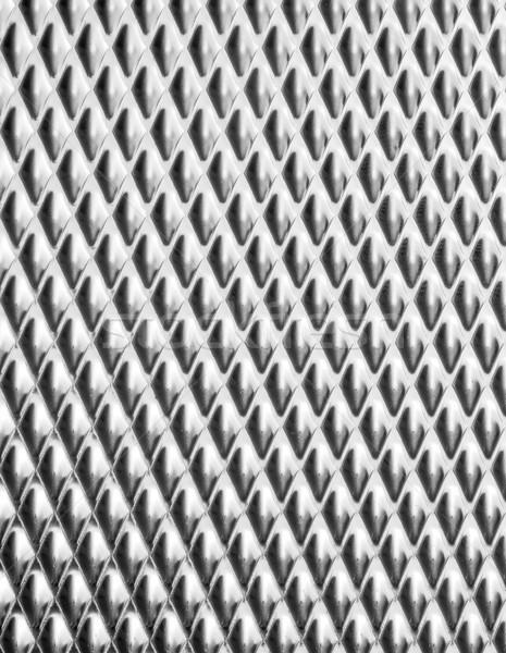 Abstrato metálico superfície quadro completo fundo metal Foto stock © prill