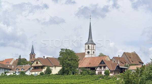 Mittelbergheim in Alsace Stock photo © prill
