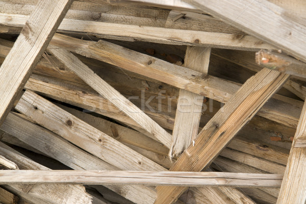 wooden chaos closeup Stock photo © prill