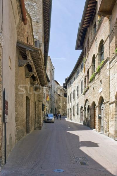 San Gimignano Stock photo © prill
