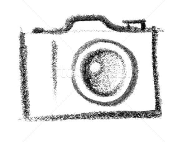 camera icon Stock photo © prill