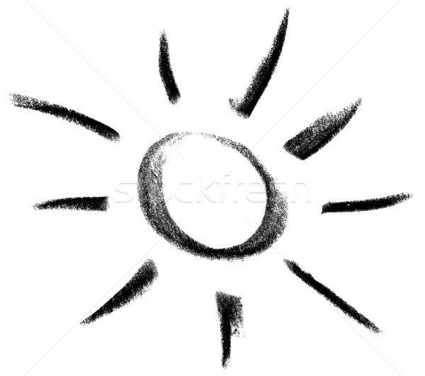 sun and light sketch Stock photo © prill