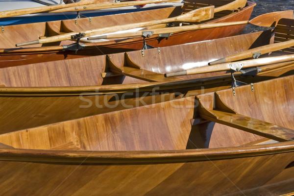 Fából készült full frame részlet napos makró üres Stock fotó © prill