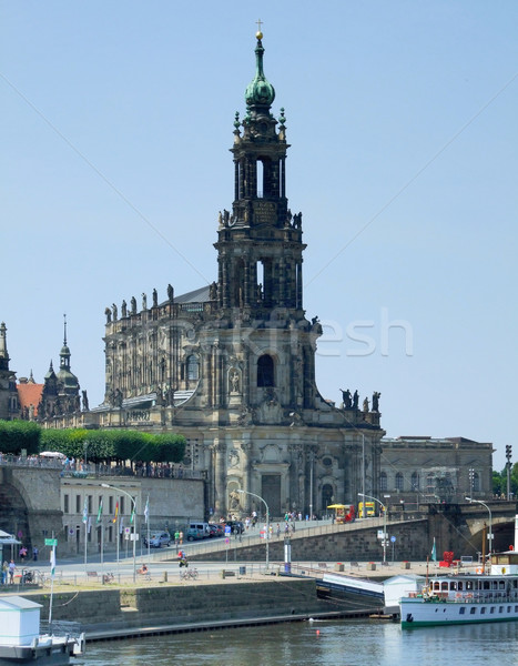 Dresden in Saxony Stock photo © prill