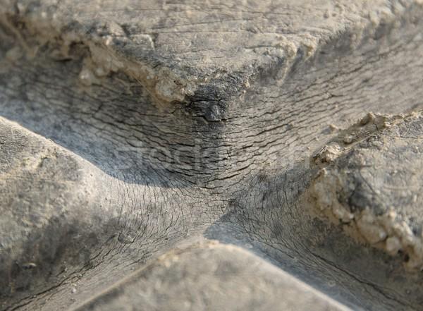 brittle rubber tire Stock photo © prill