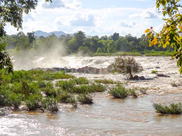 Khone Phapheng Falls Stock photo © prill