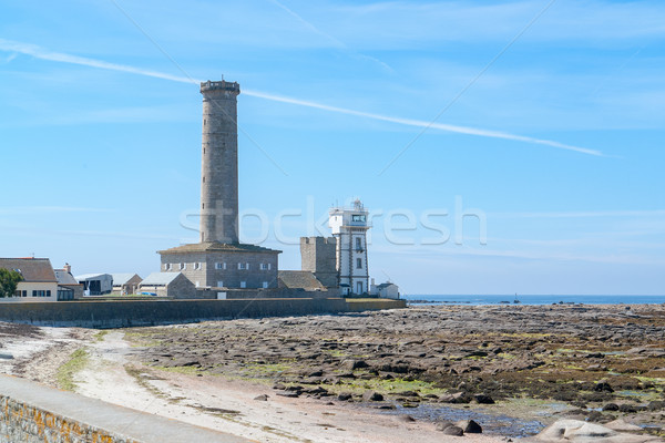 lighthouse in Penmarch Stock photo © prill