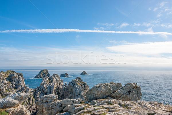 Pointe de Pen-Hir in Brittany Stock photo © prill