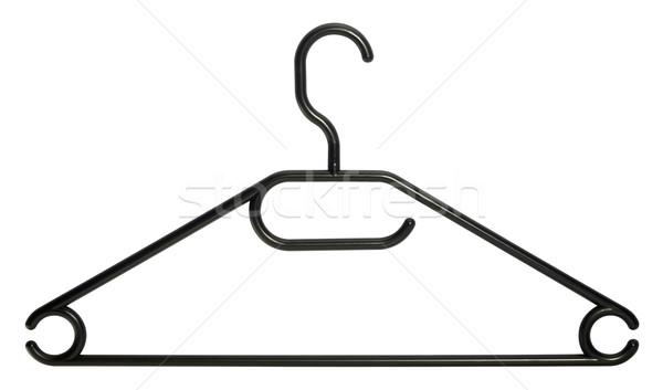 black clothes hanger Stock photo © prill