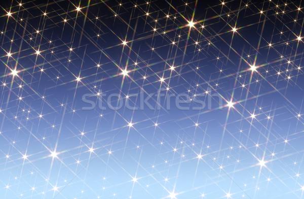 starry sky background Stock photo © prill