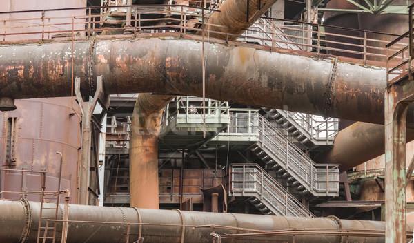 rundown  industrial scenery Stock photo © prill