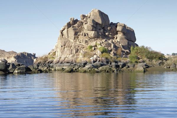 landscape near Philae Stock photo © prill