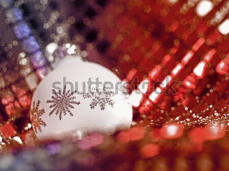 Christmas bauble Stock photo © prill