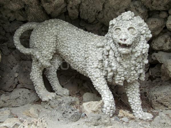 lion sculpture Stock photo © prill