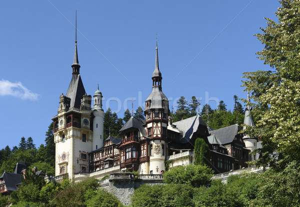 Peles Castle Stock photo © prill