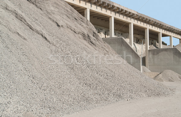 gravel pit Stock photo © prill