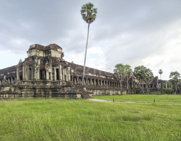 Angkor Wat Cambodge temple complexe bâtiment pierre Photo stock © prill