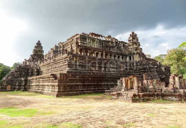 Cambodge temple angkor bâtiment pierre asian Photo stock © prill
