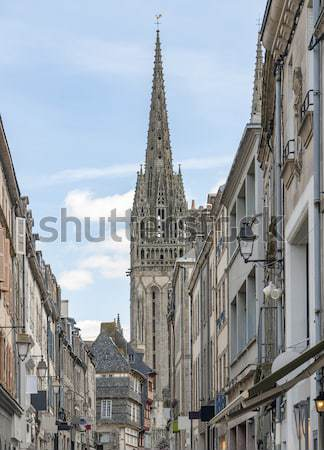 Quimper in Brittany Stock photo © prill