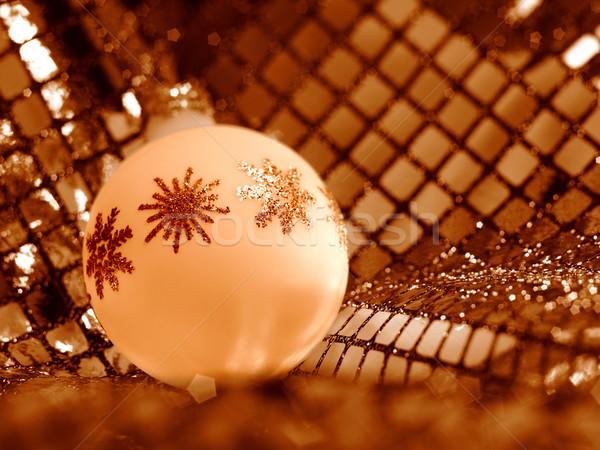 Stock photo: Christmas bauble