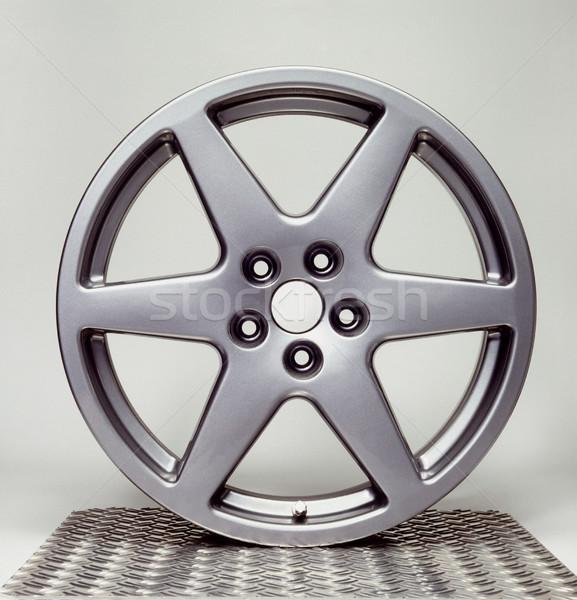 wheel rim in grey back Stock photo © prill