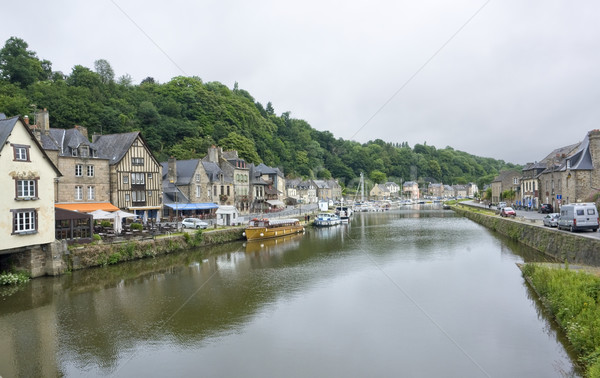 Port of Dinan Stock photo © prill