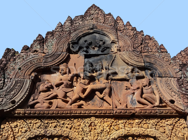 исторический храма Камбоджа здании строительство Сток-фото © prill
