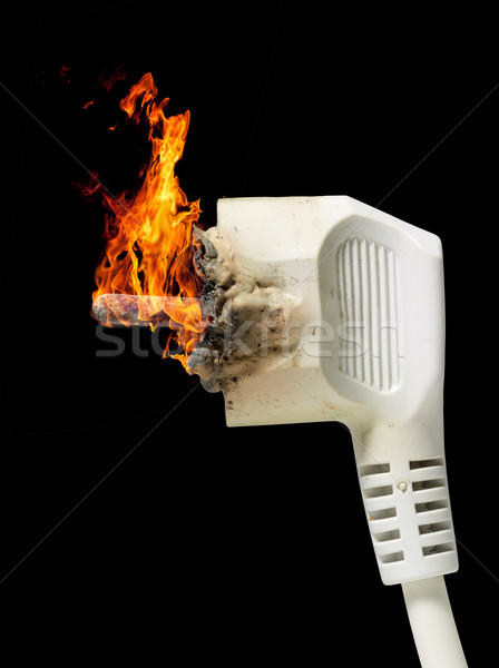 burning plug Stock photo © prill
