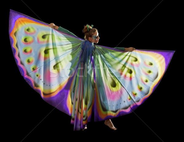 Как сделать крылья бабочки для танца