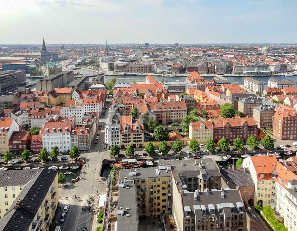 Копенгаген Дания город путешествия городского Сток-фото © prill