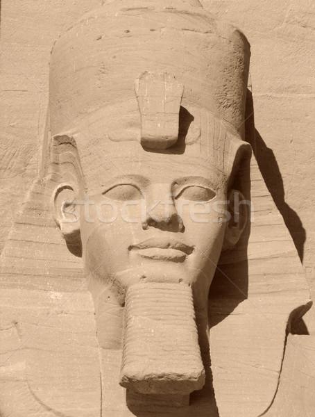 portrait of Ramses II Stock photo © prill