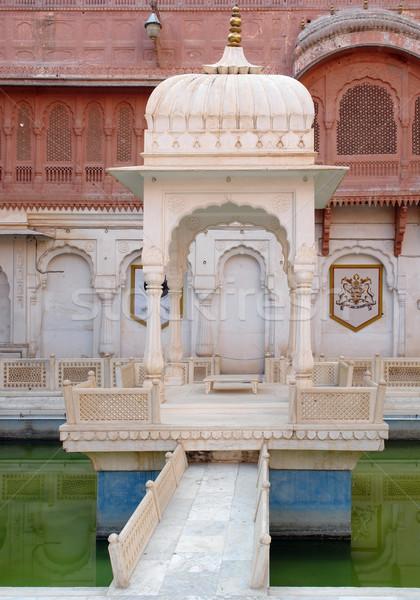 pavilion in Bikaner Stock photo © prill