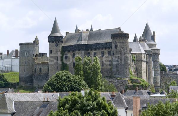 Castelo parede verão arquitetura torre cidade Foto stock © prill