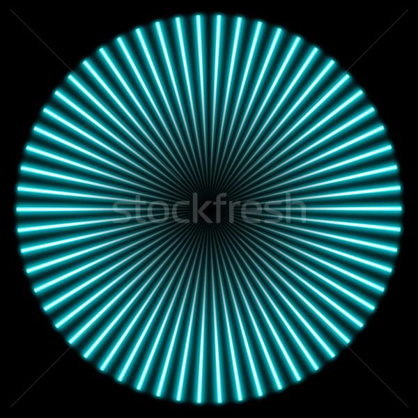 radial illustration Stock photo © prill
