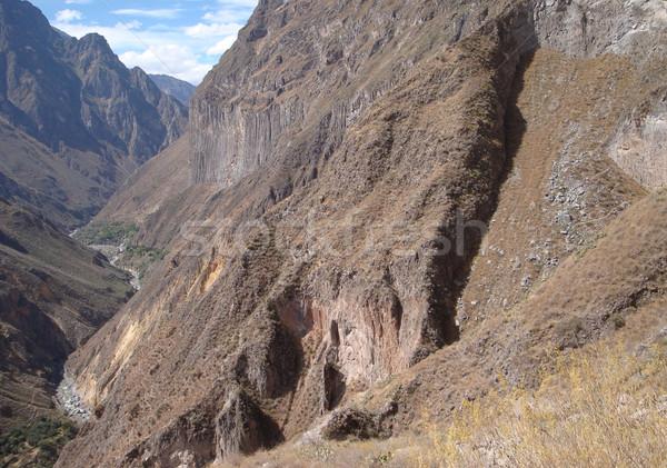 Colca Canyon Stock photo © prill