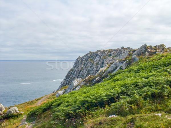 ストックフォト: 半島 · 風景 · 風景 · 海 · 山