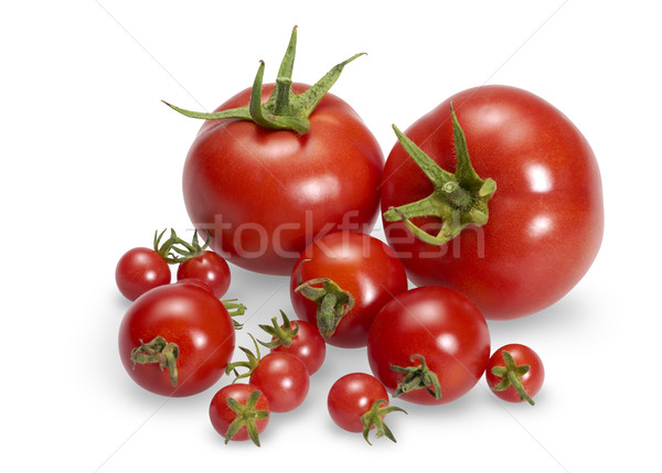 various red tomatoes Stock photo © prill