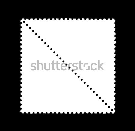 plain stamp Stock photo © prill