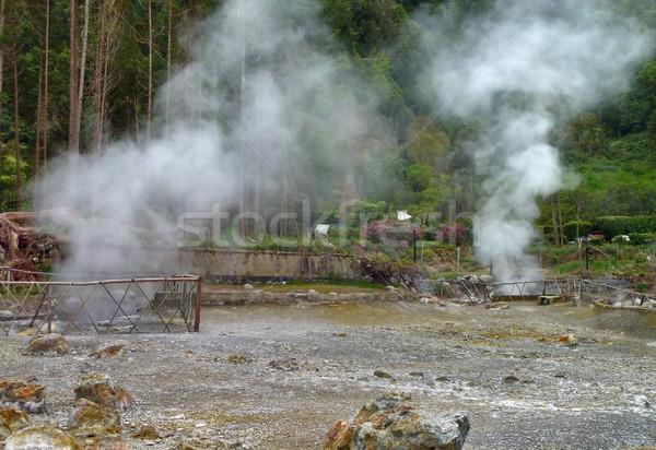 Thermisch bad eiland archipel groep eilanden noorden Stockfoto © prill