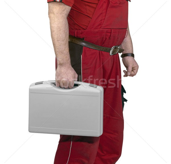 craftsman with case Stock photo © prill