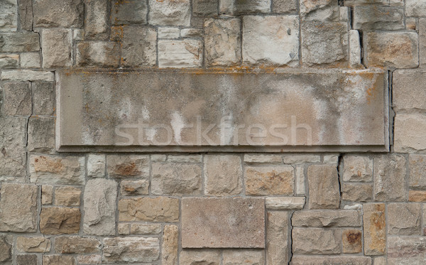 stone wall with flagstone Stock photo © prill