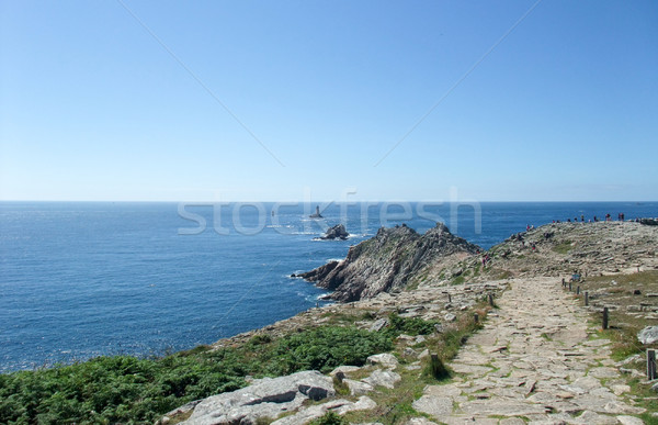 Pointe du Raz in Brittany Stock photo © prill